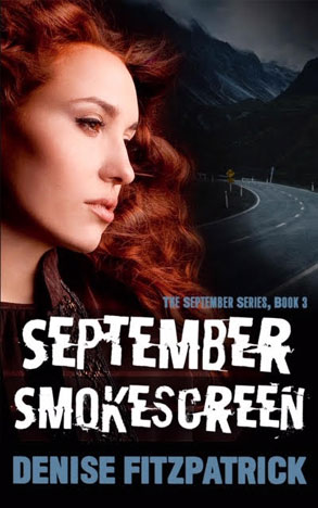 Book cover September Smokescreen by Denise Fitzpatrick